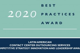 Frost & Sullivan Recognizes Almaviva For Latam Contact Center Leadership