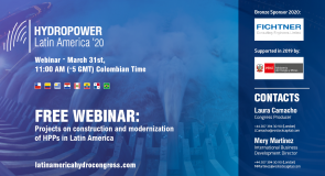 Join Finance America's Executive Editor For A Free Webinar On Latin American Hydroelectric Power